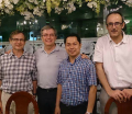 With my cexaminer, Prof Alan Grasmick in HCMC! a memory!